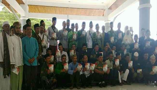Bedah Buku Fiqih Kebangsaan Meriahkan Hari Santri di Lampung Selatan
