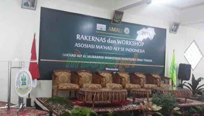 Rakernas dan Workshop Asosiasi Ma'had Aly se Indonesia (AMALI)