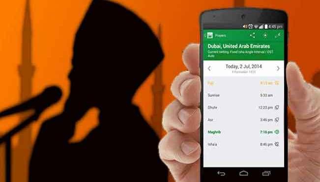 Menjawab Adzan Asli dan Aplikasi