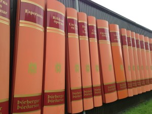 Livres format géant Islande