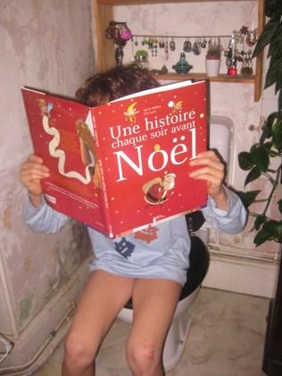 """""""Une histoire chaque soir avant Noël"""", de Sylvie Poillevé et Eric Gasté, ed Flammarion."""
