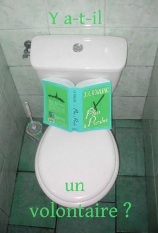 """""""Une place à prendre"""" de JK Rowling, ed. Grasset"""