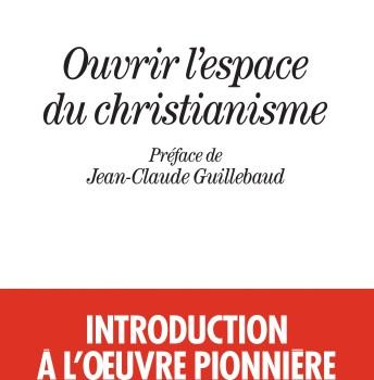 Ouvrir l'espace du christianisme – Myriam TONUS