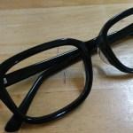 無事、自作メガネが完成!メガネデザイナーと言ってもいいですか?