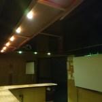 やきとり屋のダウンライトをPowerLEDに変えることができました。