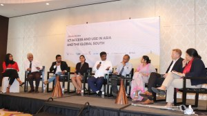 Image of the panel at the Sri Lanka launch of AfterAccess Asia in Colombo on 22.05.2019