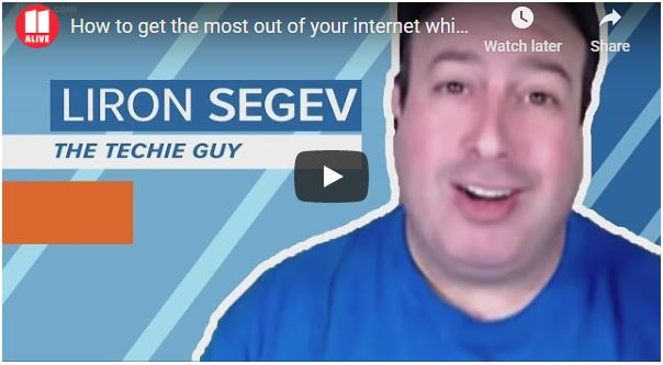 Liron Segev on nbc atlanta tv interview
