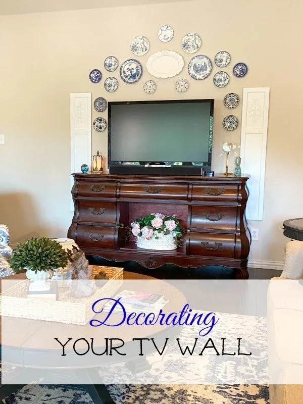 Decorating your tv wall