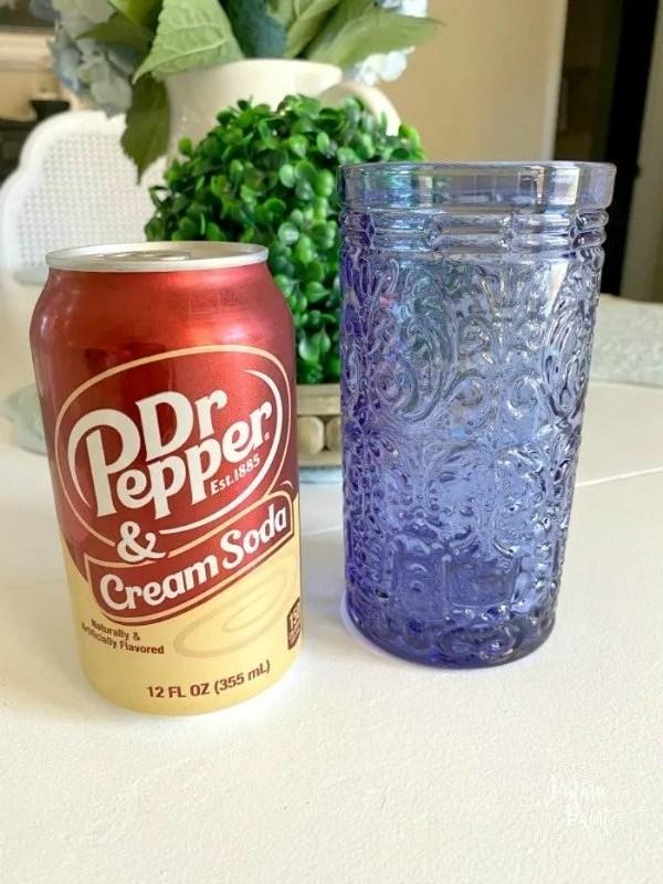 Dr. Pepper and Cream Soda