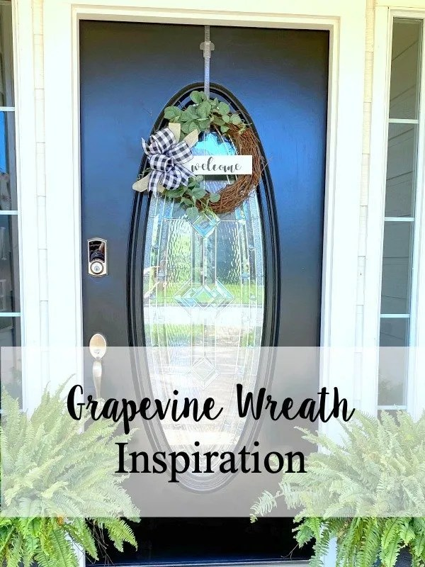 Grapevine wreath inspiration