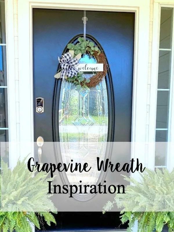 Grapevine wreath inspiration