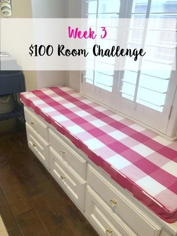 week 3 $100 Room Challenge