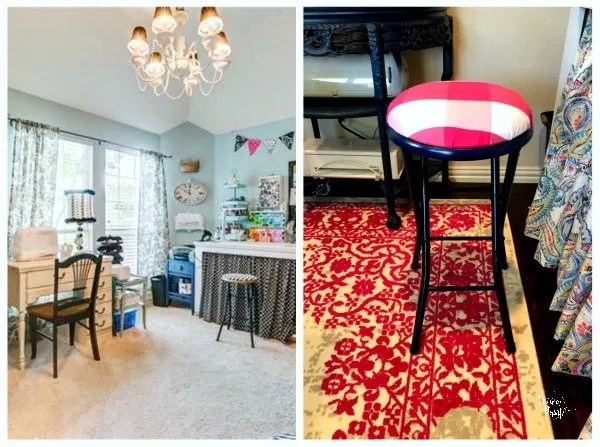 before and after stool