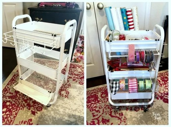 wrapping cart
