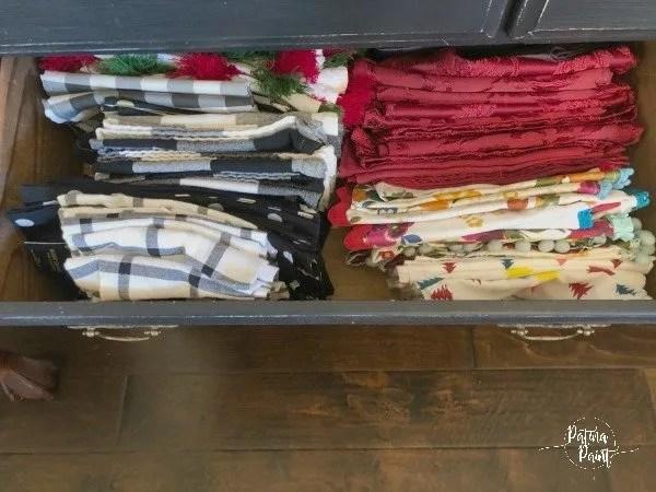 drawer 1 cloth napkins