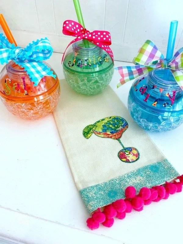 acrylic ball tumblers