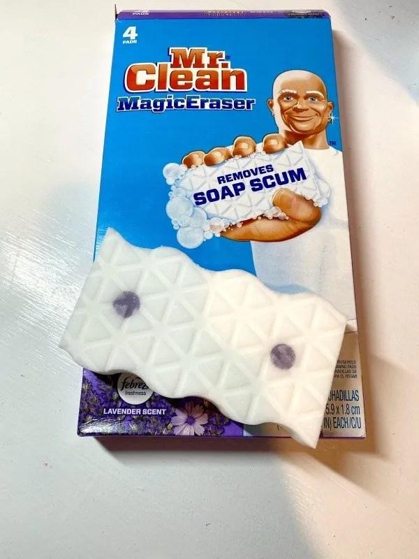 Lavender Mr. Clean Eraser