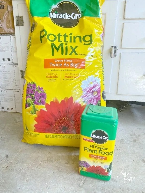 miracle grow potting mix
