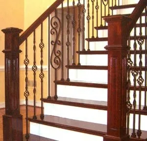 Day S Door Company Seargeant Bluff Ia Millwork Parts | Knotty Alder Stair Railing | Distressed | Diy | Interior | Indoor | Wood