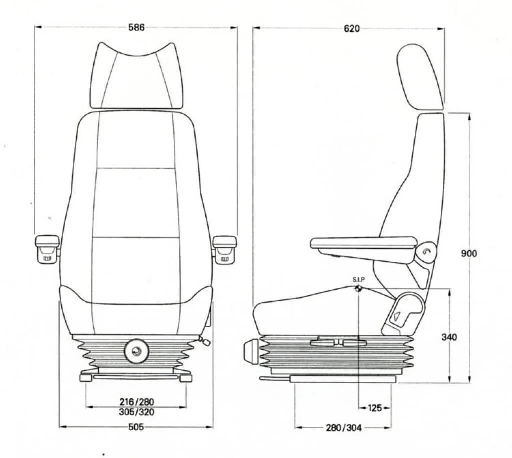 Mining Truck Seats