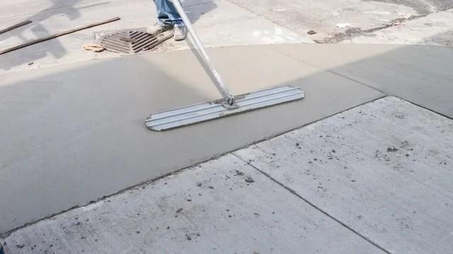 concrete resurfacing repair in