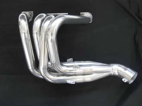 ceramic exhaust coating for temperature