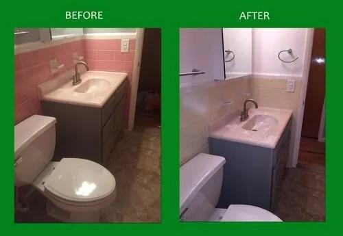 bathroom vanity resurfacing fraser