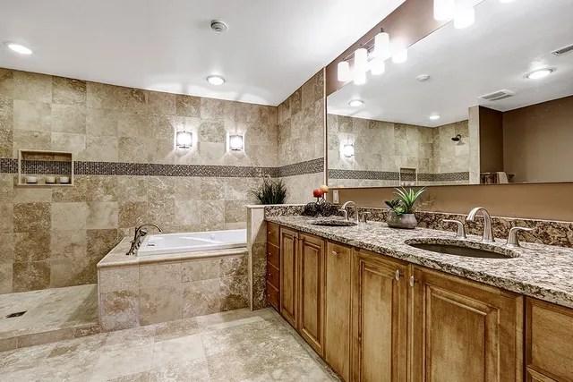 bathroom tile installation bath