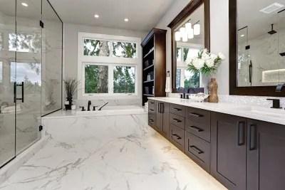 tile installation bathroom tile