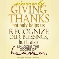 Thanksgiving: uma atitude de gratidão