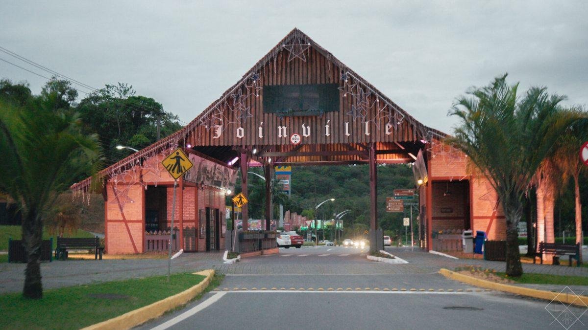 Quase um dia em Joinville: uma parada rápida demais