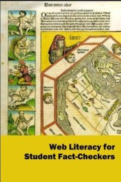 Web-Literacy for Student Fact Checkers by Mike Caulfield book cover.