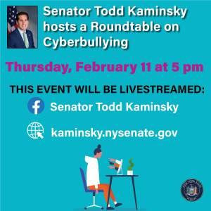 Kucharz to Serve on Kaminsky Senate Roundtable on Cyberbullying