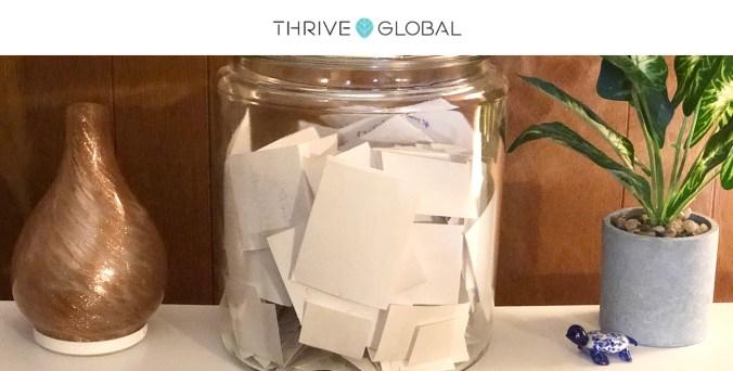 Upgrade Your Gratitude Practice Thrive Global Lisa-Michelle Kucharz