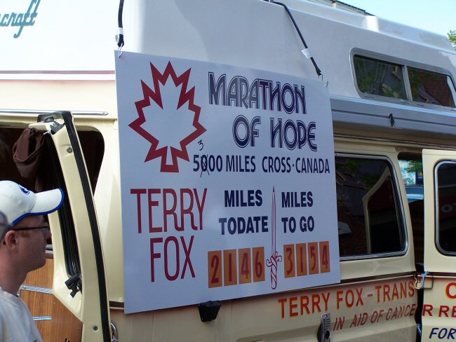 Terry Fox Van