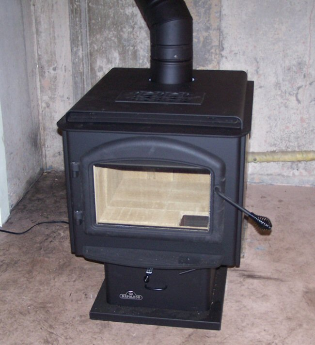 Photo of our New Wood Stove