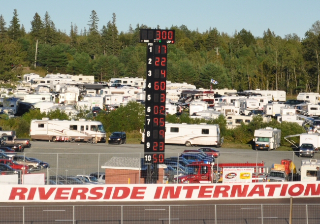 Canadian Tire NASCAR race - Antigonish