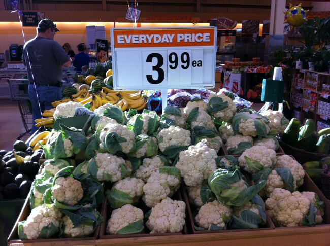 Cauliflower - $3.99