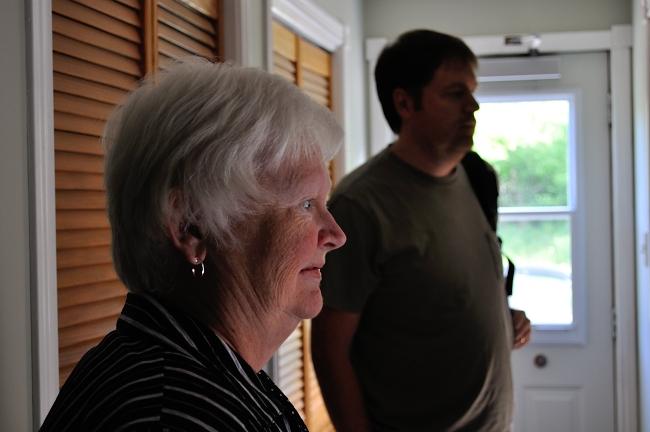 Mom & Brian's visit