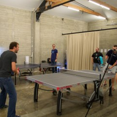 On-going ping pong tournament