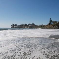 Me walking in the Pacific ocean!