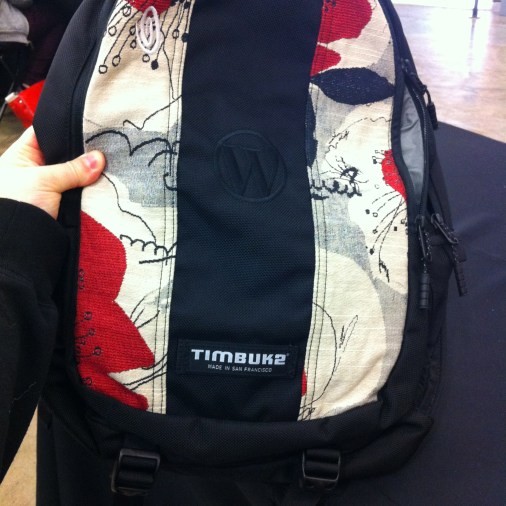Picked up my new Timbuk2 bag, complete with the WordPress embroidered logo