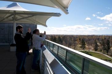 Top floor observation deck