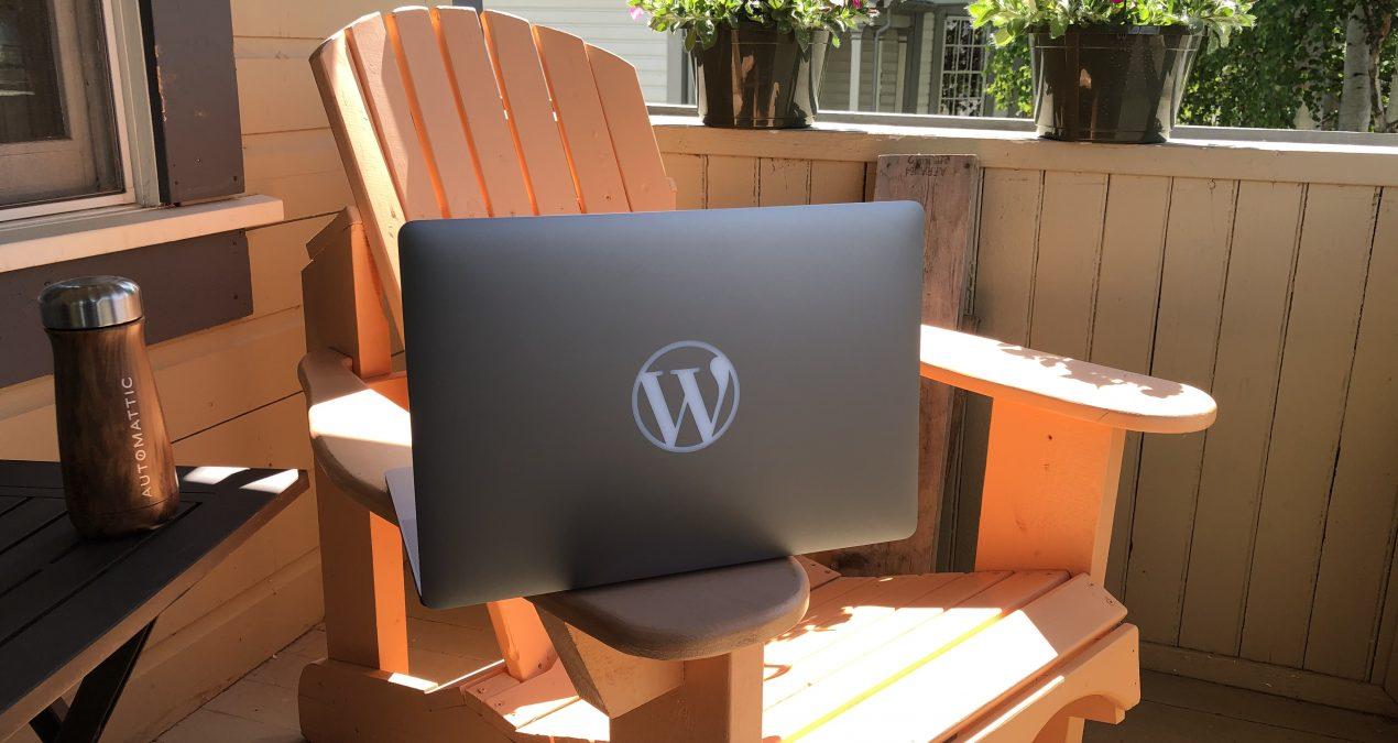 My new 'W' laptop