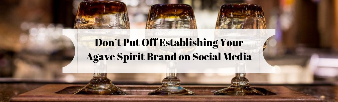 Don't Put Off Establishing Your Agave Spirit Brand on Social Media