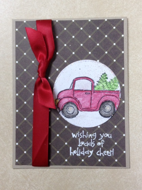 Stampin Up Mini Tutorial Loads Of Love Christmas Card