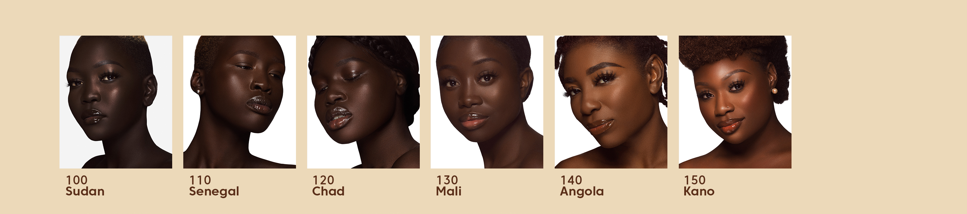 dark skin foundation colors