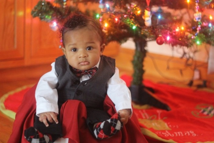 Baby Boy Outfit (Christmas Friendly)