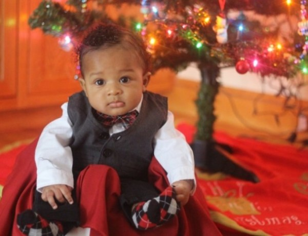 Baby Boy Christmas Outfit of the Day