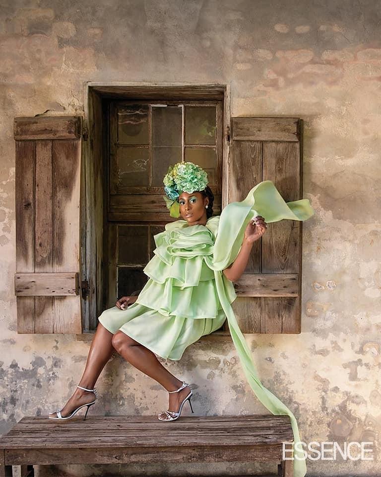 Issa Rae High Fashion Green